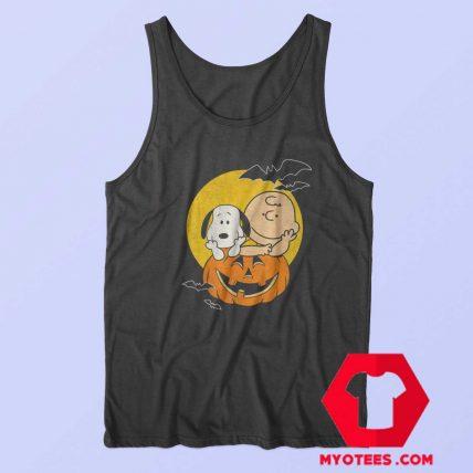 Snoopy Halloween Cartoon Parody Tank Top