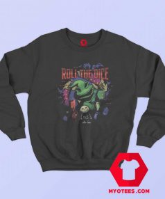 The Nightmare Before Christmas Oogie Dice Sweatshirt
