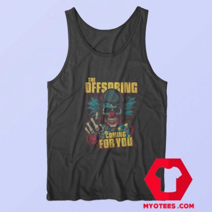 The Offspring Coming For You Retro Tank Top