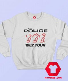 The Police 1982 Tour Vintage Sweatshirt