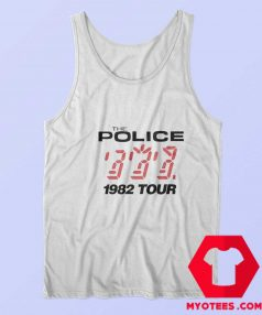 The Police 1982 Tour Vintage Unisex Tank Top