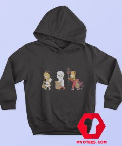 The Simpsons Halloween Costumes Hoodie