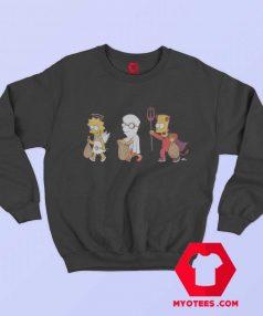 The Simpsons Halloween Costumes Sweatshirt