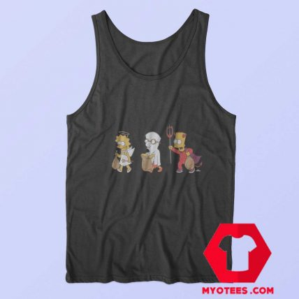 The Simpsons Halloween Costumes Tank Top