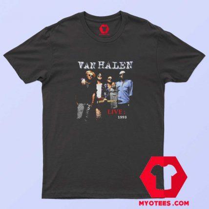 Van Hallen Live 1993 Wolrd Tour T Shirt
