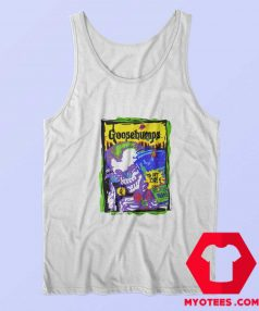 Vintage 1995 Goosebumps You Cant Scare Tank Top