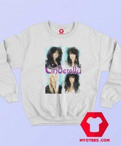 Vintage Cinderella Rock Music Sweatshirt