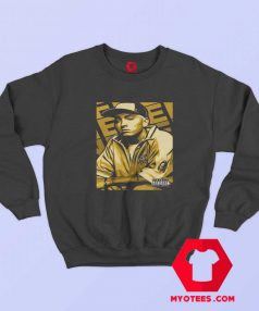 Vintage Eminem Gold Album Cover Sweatshirt