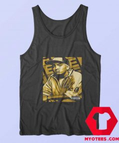 Vintage Eminem Gold Album Cover Tank Top