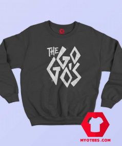 Vintage The Go Gos Band Logo Music Sweatshirt