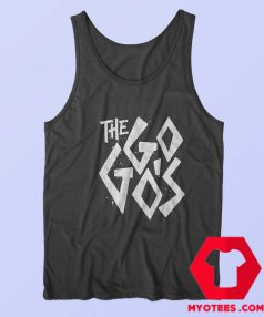 Vintage The Go Gos Band Logo Music Tank Top