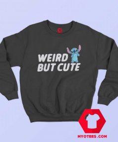 Weird But Cute Disney Lilo Stitch Sweatshirt