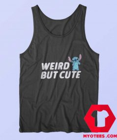 Weird But Cute Disney Lilo Stitch Tank Top