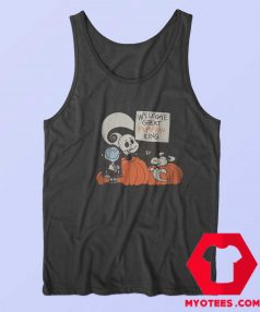 Welcome Great Pumpkin King Snoopy Tank Top