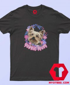 Yorkie Mom Yorkshire Hanes Tagless T Shirt