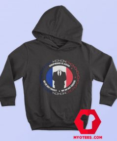 Anonymous V for Vendetta Logo Unisex Hoodie