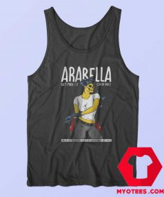 Artic Monkeys Alex Turner Pin Up Girl Tank Top
