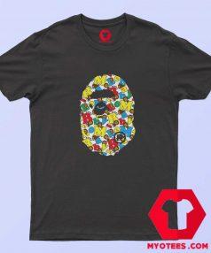 Baby Milo Alphabet Ape Head Unisex T Shirt
