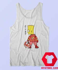 Bart Simpson Biker Kaneda Akira Movie Tank Top