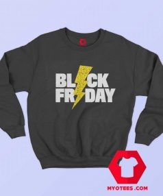 Black Friday Lightning Unisex Sweatshirt