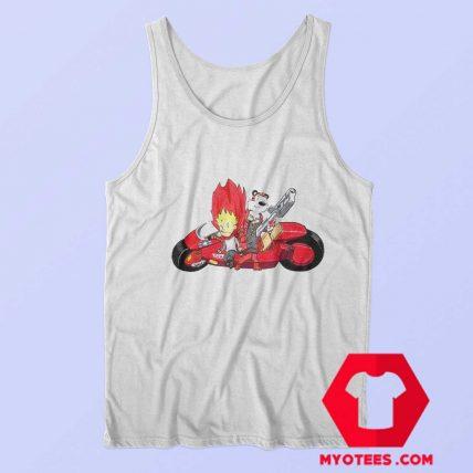 Calvin and Hobbes Akira Tetsuo Kaneda Tank Top