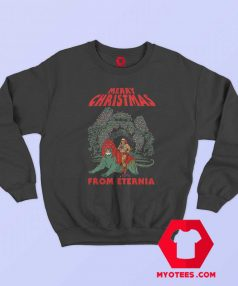 Christmas From Eternia Masters Universe Sweatshirt