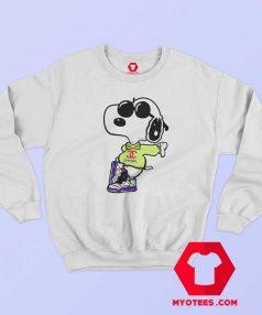 Cool Chanel Fly Snoopy Unisex Sweatshirt