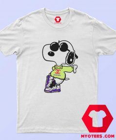 Cool Chanel Fly Snoopy Unisex T Shirt