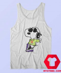 Cool Chanel Fly Snoopy Unisex Tank Top
