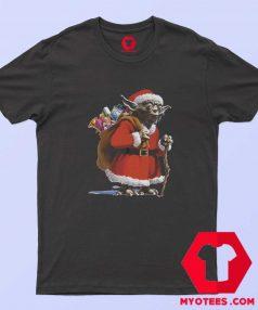 Cute Yoda Star Wars Santa Christmas T Shirt