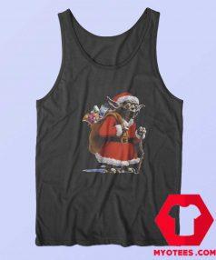 Cute Yoda Star Wars Santa Christmas Tank Top