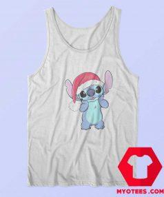 Disney Lilo Stitch Christmas Santa Hat Tank Top