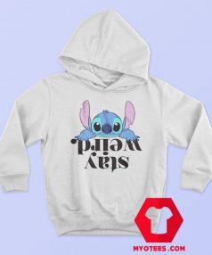 Disney Lilo and Stitch Stay Weird Officially Hoodie