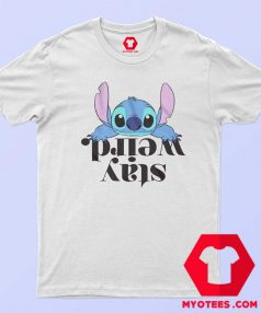 Disney Lilo and Stitch Stay Weird Officially T Shirt