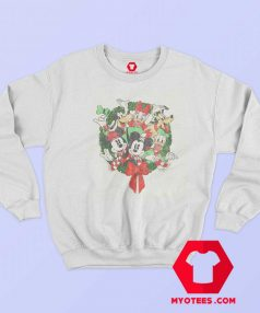 Disney Mickey Mouse Holiday Friends Sweatshirt
