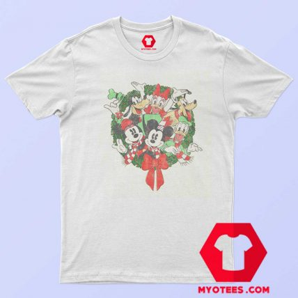 Disney Mickey Mouse Holiday Friends T Shirt