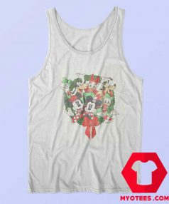 Disney Mickey Mouse Holiday Friends Tank Top