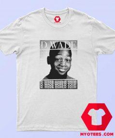 Dwyane Wade White World Tour T Shirt