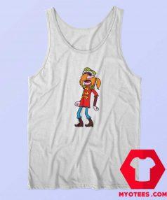 Floyd Pepper Muppet Musician Funny Tank Top