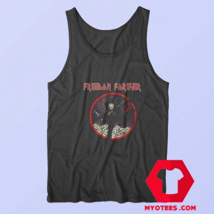 Freedom Forever V For Vendetta Terrorist Tank Top