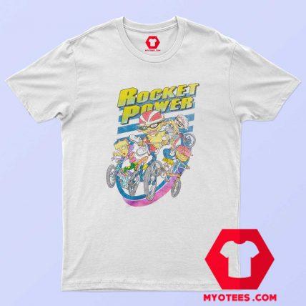 Funny Rocket Power Vintage Cartoon T Shirt