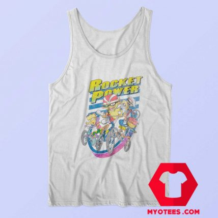 Funny Rocket Power Vintage Cartoon Tank Top