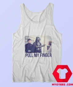 Funny Star Wars Parody Pull My Finger Tank Top