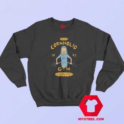 Funny The Great Cornholio Gym 1993 Sweatshirt