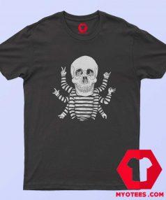 Funny Vitruvian Skull Dwarf Unisex T Shirt