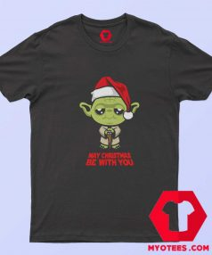 Funny Yoda May Christmas be with you T Shirt