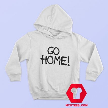 Go Home Jay Z wears Surface To Air Graphic Hoodie
