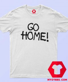 Go Home Jay Z wears Surface To Air Graphic T Shirt