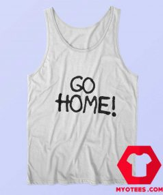 Go Home Jay Z wears Surface To Air Graphic Tank Top