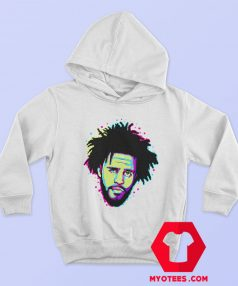 J Cole Pop Art Hip Hop Vintage Unisex Hoodie